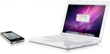 iphone 4 macbook