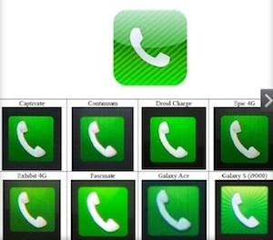 ios icoontjes telefoon