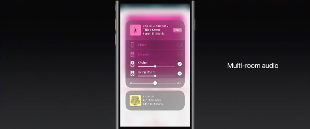 Multi-room audio in AirPlay 2.