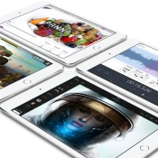 iPad mini 4 met apps