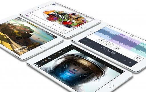 iPad mini 4 met apps
