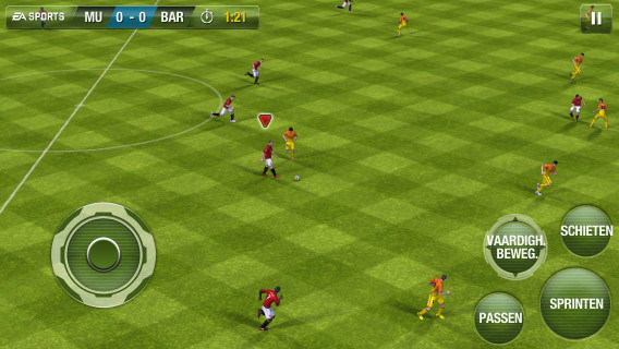 iPhone 5 review screenshot FIFA 13