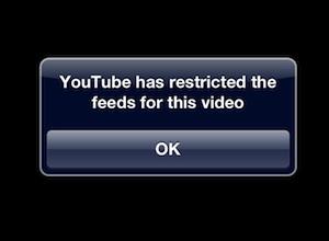 youtube restricted jasmine