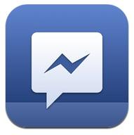 facebook messenger icoon