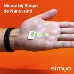 Simyo nano-simkaart