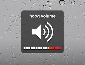 Volumebegrenzing iPhone 5