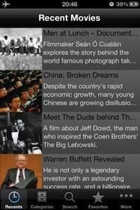 documentary iphone app