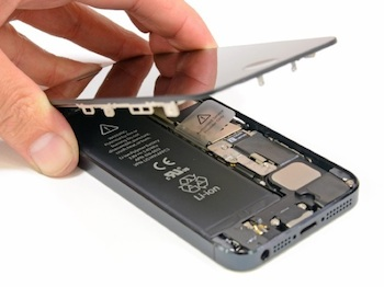 ifixit iphone 5 openen