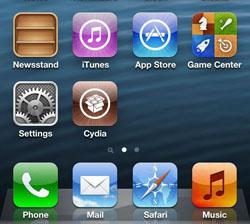 Cydia iPhone 5