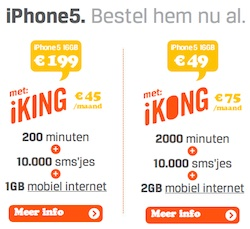 telenet iphone 5