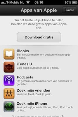 App Store gratis apps