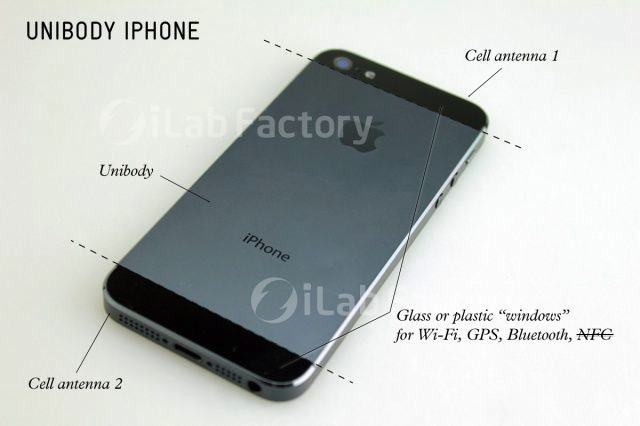 Vernieuwd antennesysteem iPhone 5