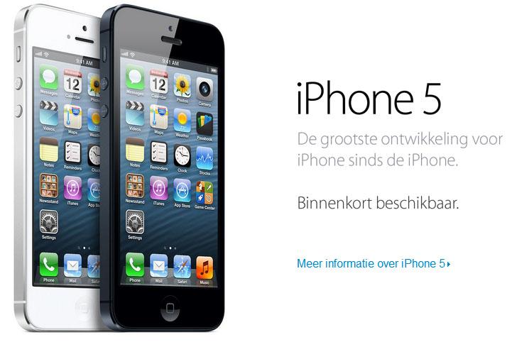 iphone 5 nederland