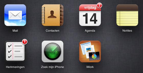 iCloud.com nieuwe functies uit beta fase