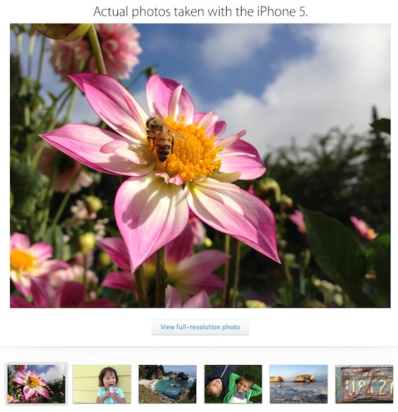 iphone 5 voorbeeld fotos