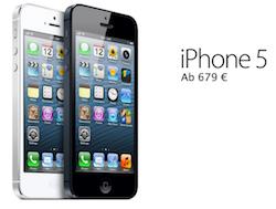 iPhone 5 679 euro