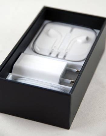 iPhone 5 box van binnen