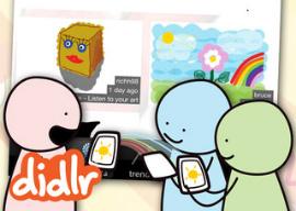 Didlr tekeningen maken iPhone
