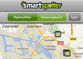 SmartSpotter nu ook in België