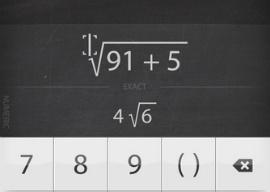Archimedes calculator met exacte antwoorden iPhone