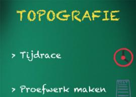 Topografie iPhone schoolbord