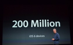 Tim Cook zegt 200 miljoen iOS 6 devices