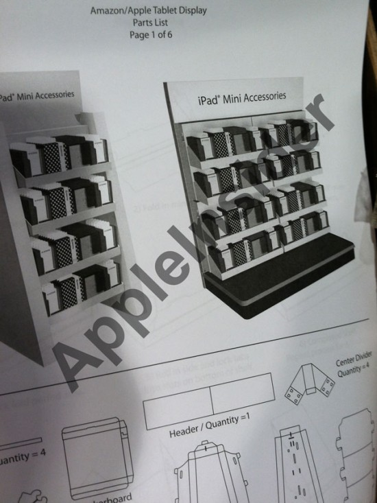 ipad mini accessoires display
