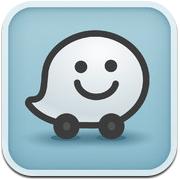 Waze 3.5 iPhone iPad navigatie-app samenrijden