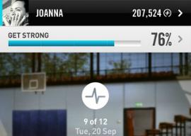 Nike Kinect Training iPhone-app gratis