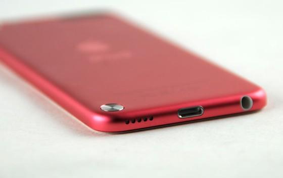 ipod touch 5g schuin bovenkant