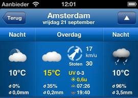 WeatherPro 3.0 grote update weer-app iPhone
