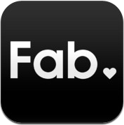 Fab.com lifestyle design webshop iPhone