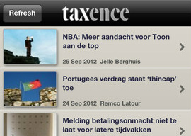 Taxence iPhone iPod touch belastingnieuws