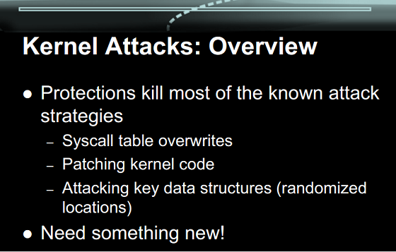 iOS Kernel Attacks: Overview