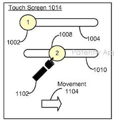 patent scherm ontgrendeling twee stappen