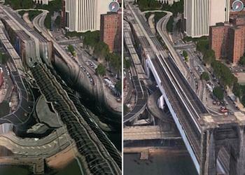 flyover brooklyn bridge
