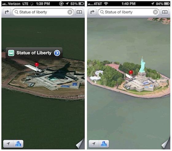 apple maps verbeteringen