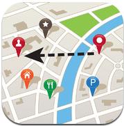 FastTrack Navigator iPhone navigeren met pijl