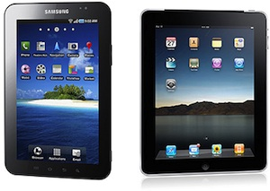 samsung apple tablets