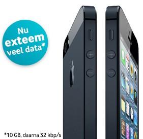 iphone extreem veel data