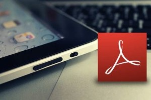 ipad adobe reader