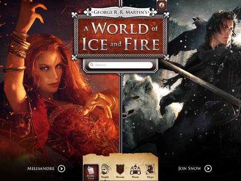 Game of Thrones iPad header