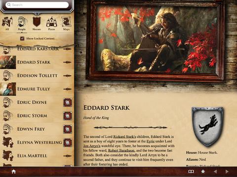 Game of Thrones iPad Eddard Stark