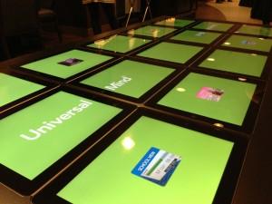 iPad tafel