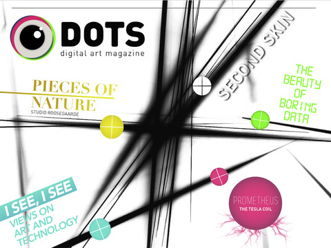 DOTS Digital Art Magazine iPad header