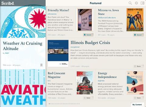 Scribd iPad header featured