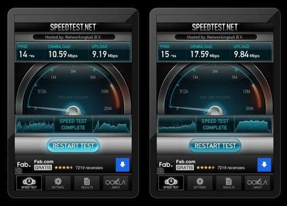 wifi test snelheid 5ghz