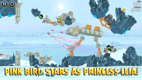 Angry Birds Star Wars nieuwe kracht