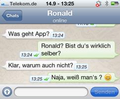 iphone ronald