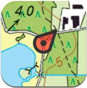 Topo GPS iPhone iPad Kadaster kaart